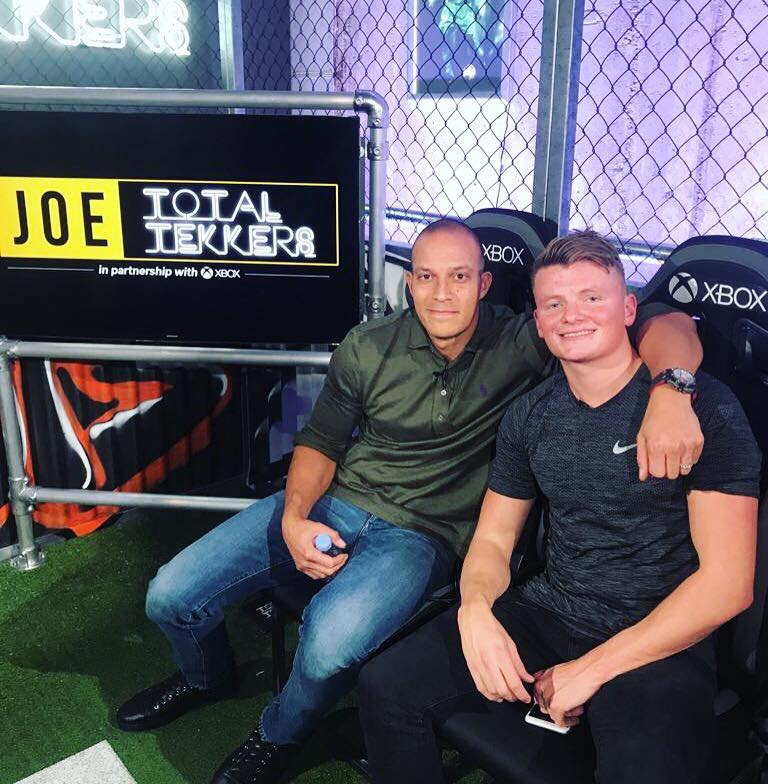 APPEARANCE ON TOTAL TEKKERS - JOE.CO.UK & XBOX
