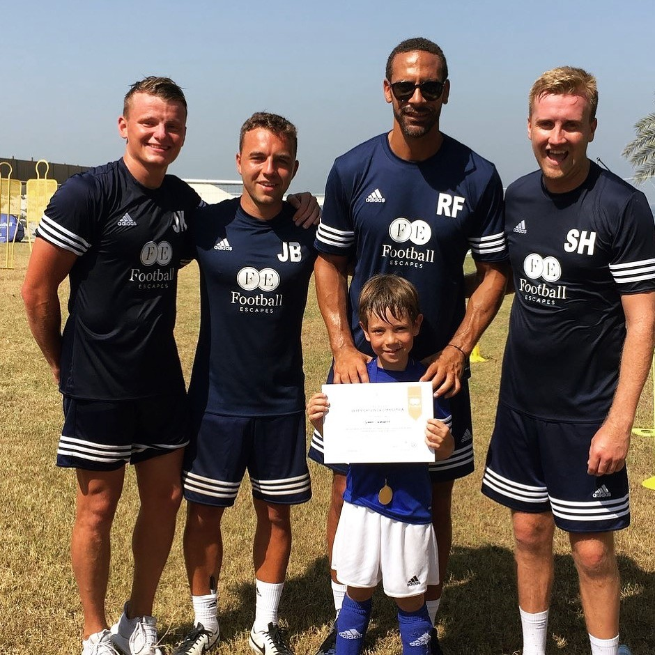 FOOTBALL ESCAPES - DUBAI - RIO FERDINAND
